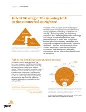 Talent Strategy: The missing link to the connected workforce