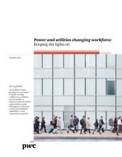 Power and utlities changing workforce