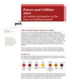 Power and Utilities Alert 2013-9: An industry perspective on the lease accounting proposal