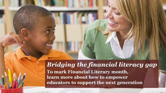 To mark Financial Literacy Month, learn more about PwC's progress towards its $190M