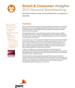 Retail & Consumer Insights: 2014 Financial Benchmarking