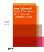 Retail & Consumer 2013 Financial Reporting Trends