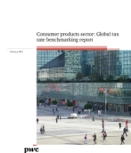 Consumer products sector: Global tax rate benchmarking report