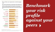 Benchmark your risk profile against your peers
