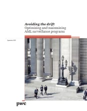 Avoiding the drift: Optimizing and maintaining AML surveillance programs