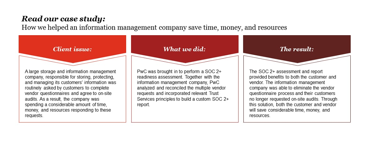 System And Organization Controls Soc Reporting Pwc