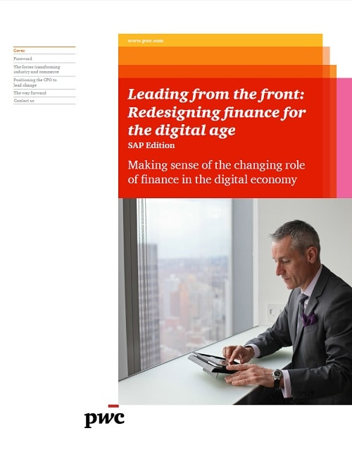 Leading from the front: Redesigning finance for the digital age – SAP Edition