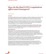 This analysis aimed to take a closer look at the fundamental differences and similarities in purpose between KYC and FATCA.