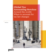 Around the world: When to account for tax law changes