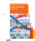 PwC Houston 2012 Second Annual Global Structuring Tax Forum