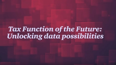 Tax Function of the Future - Unlocking the power of data and analytics: PwC