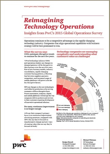 Reimagining Technology Operations