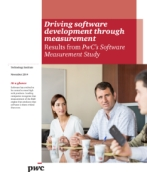 Driving software development through measurement