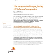 The unique challenges facing US inbound companies