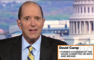 Chairman Dave Camp talks about the road ahead for tax reform on Bloomberg TV