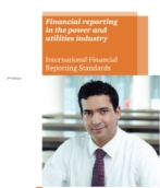 Financial reporting in the power and utilities industry