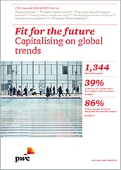17th Annual Global CEO Survey: Fit for the future - Capitalising on global trends