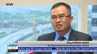 Hoang Hung shares family business insights with VTV's Business Finance News